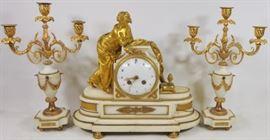 CLOCK GARNITURE SET