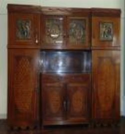 open sideboard