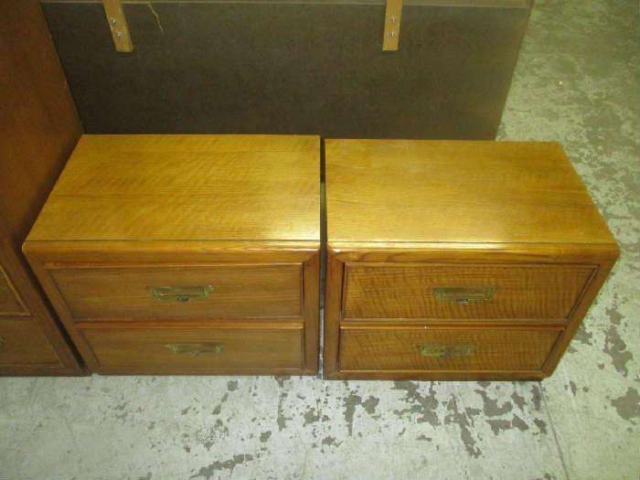 Pair of nightstands