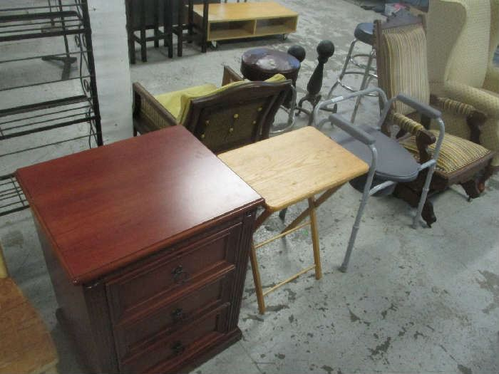 Nightstand and tables