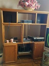 Entertainment Center or Shelf Wall Unit