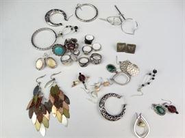Costume Rings Earrings