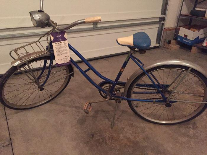 Vintage girls Sears bike
