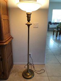 Art Deco Touchier Floor Lamp.