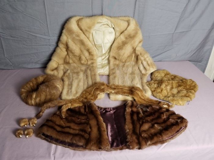 Vintage Mink Furs https://ctbids.com/#!/description/share/105002