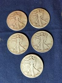 Walking Liberty & Franklin Half Dollars    https://ctbids.com/#!/description/share/104919