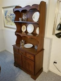 china cabinet, 36 inches wide by 72 inches tall