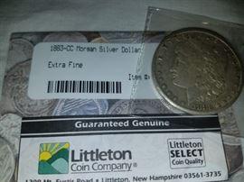 Carson City Silver Dollar