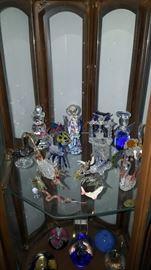 Glass Hand Blown Figurines
