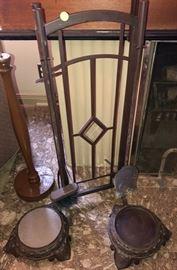 Art Deco Fireplace Tools