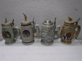 Beer stein collectors lot