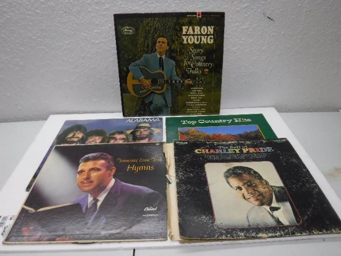 Country music record lot includes alabama