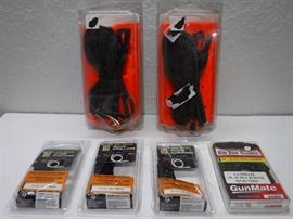 Gun and riffle cleaner kits as well as a gun sling ...