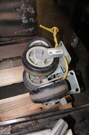 4 Large Caster Wheels