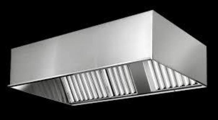 9 foot Restaurant Exhaust Stainless Steel Hood