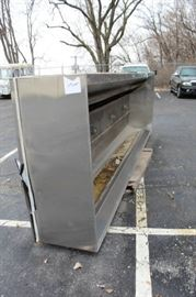 14 Foot Restaurant Exhaust Stainless Steel Hood