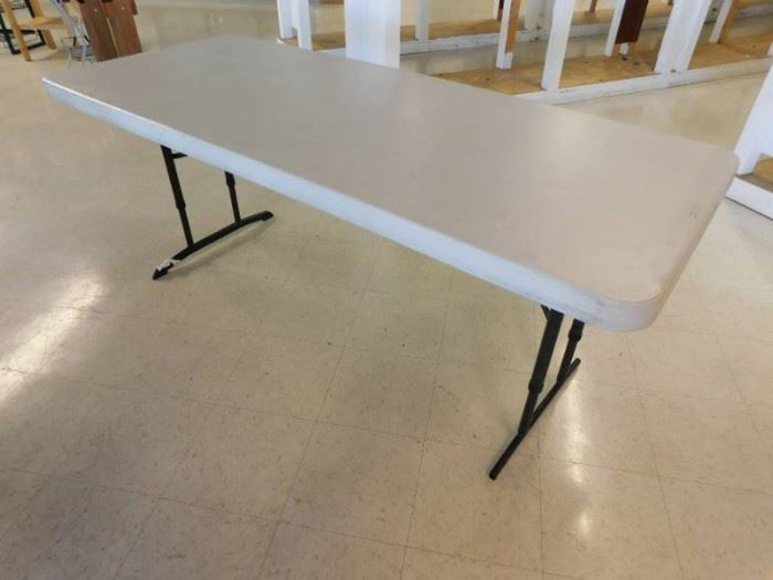 Lifetime 6 Adjustable Folding Leg Table