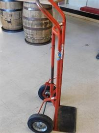 Heavy Duty Solid Tire Barrel Dolly