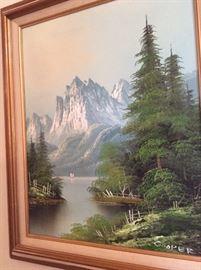 Mountainscape Original painting