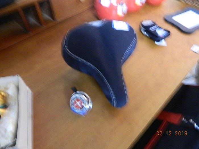 Schwinn seat and bell