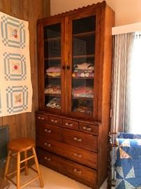 Nice Tall Antique Cabinet