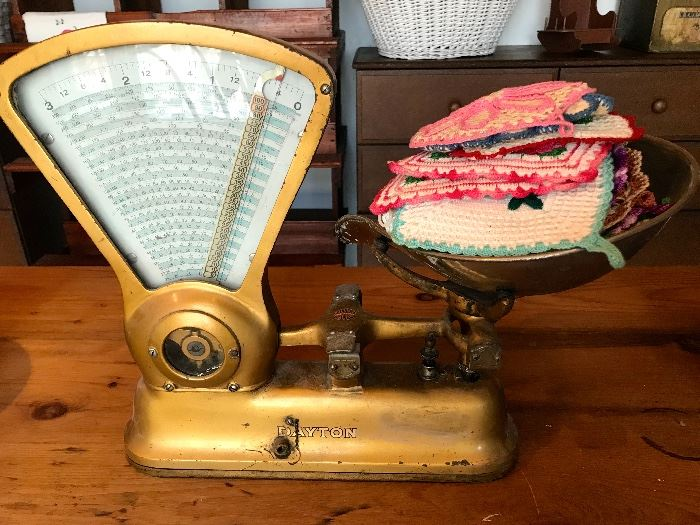 Dayton Candy Scale and Linens