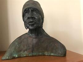 "Bronze Sculpture - ""Ex Slave #1"""
