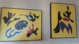 Cel3brated Jacksonville Artist Ben'h Usry. Original paintings