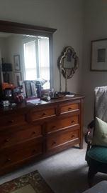 Like New Ashleigh Furniture Bedroom Set.