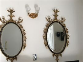 THERE ARE 3 OF THESE ORNATE MIRRORS