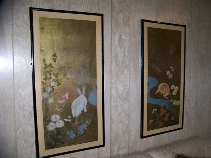 Early Japanese Water Colors