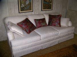 Beautiful White Sofa