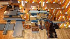 Wall Mirror Circa 1980!