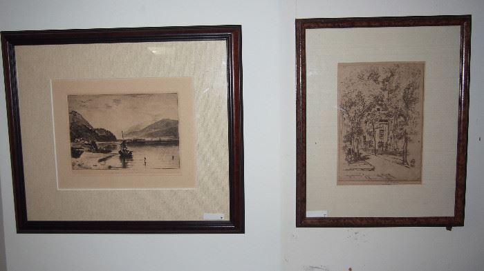 FIne etchings inc. one by Turner