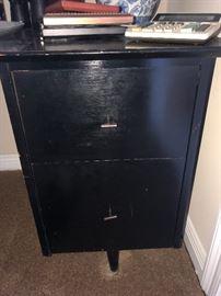 vintage desk.