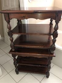Ethan Allen End tables coffee table.      Ethan Allen Dining table   Ethan Allen China cabinet.  Ethan Allen pine collection