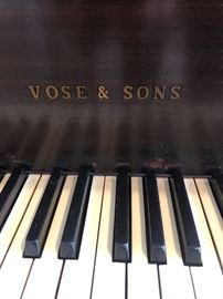 Vose and Sons  grand piano