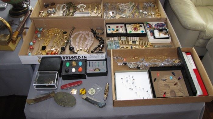 Large selection of Costume Jewelry