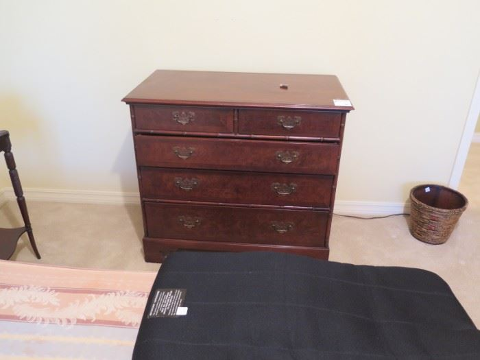 5 drawer antique chest upstairs