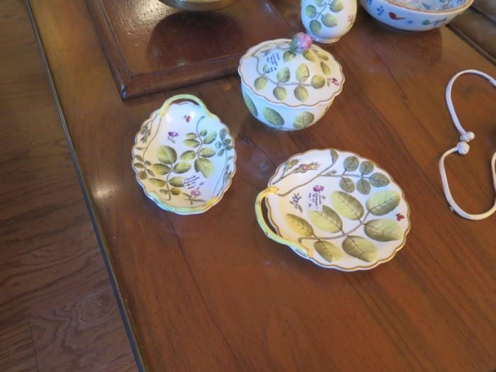 Royal Worcester Blind Earl pieces