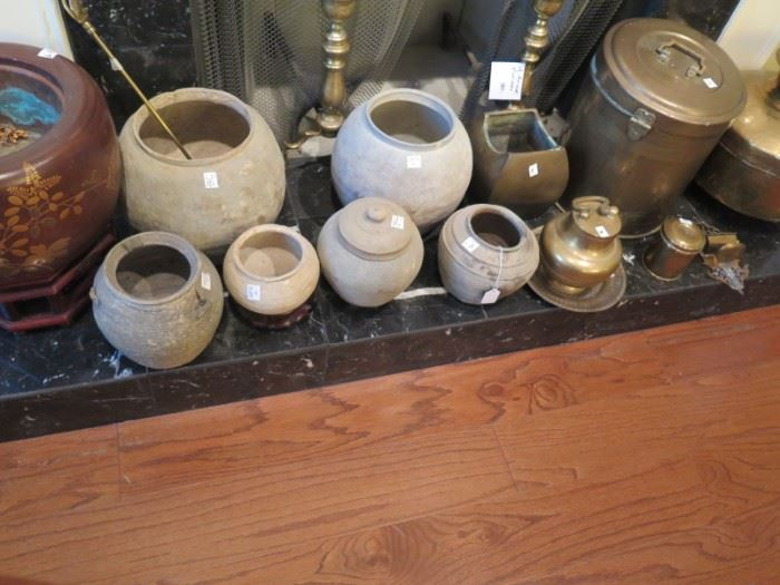 centuries old pots from Correntes
