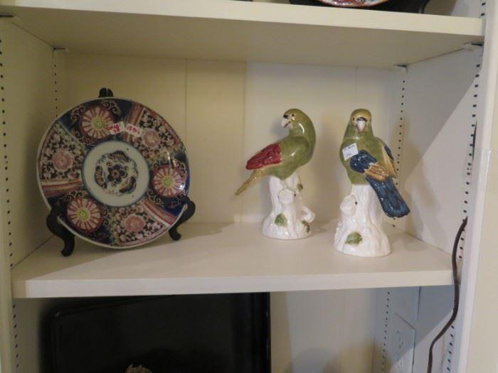 imari and parrots