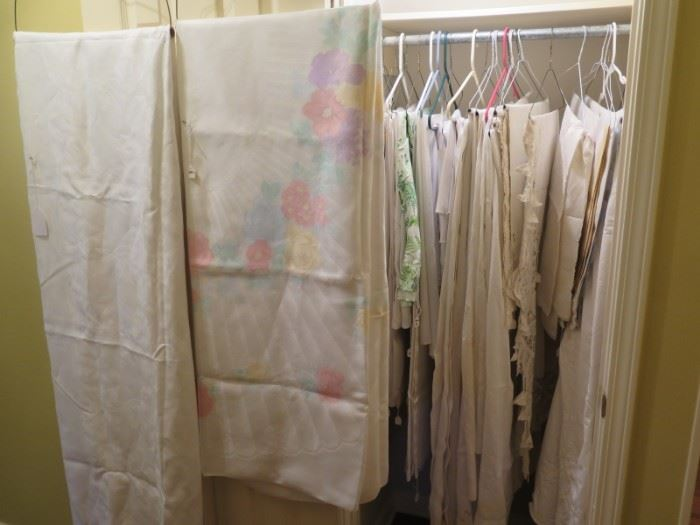 only a small part of the linens....very small