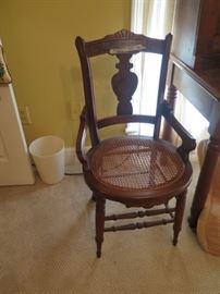 cane seat victorian, 1 of 2