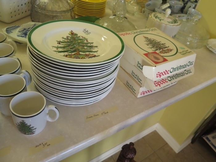 spode and cuthbertson Christmas china