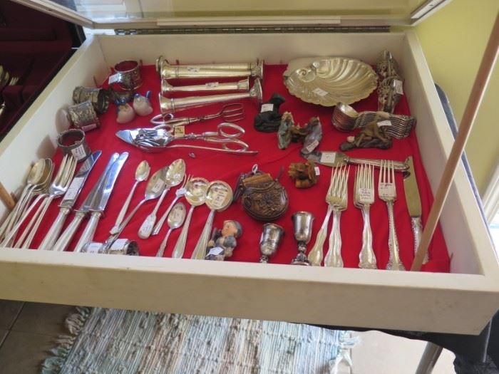 box of  sterling silver and more
