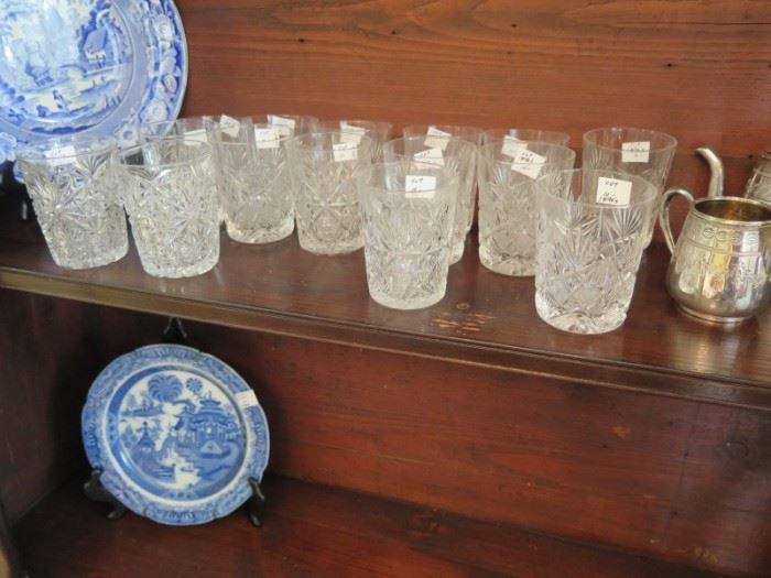 cut glass highball glasses and more