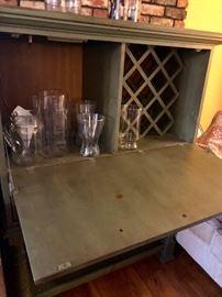 Inside of the Wine Bar