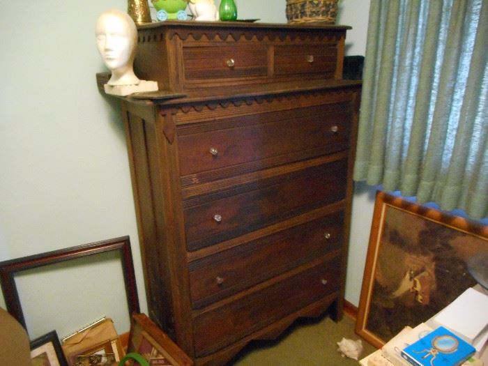 2 over 4 Antique Chest; Family History says it came from Salem, NC