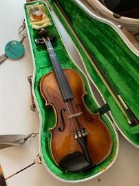 Vintage violin.